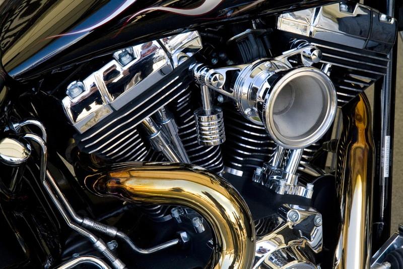 ハーレーエンジン ホーン